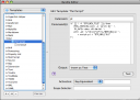 TextMate Edit Template dialog