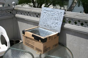My Solar Cooker